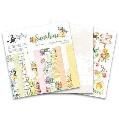Piatek13 - Paper pad Sunshine 15,3 x 15,3 cm