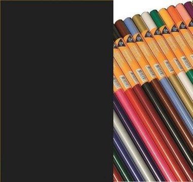 Haza Zijdevloeipapier zwart 18gr 50x70cm