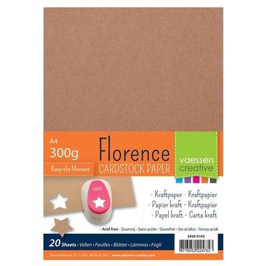 Florence • Kraft papier A4 300g