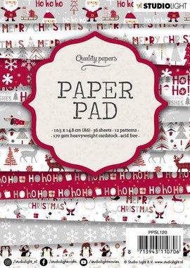 Studio Light Paper pad A6 36 vel 12 designs nr 120