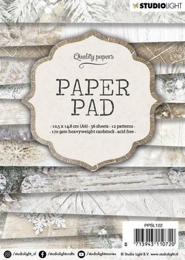Studio Light Paper pad A6 36 vel 12 designs nr 122