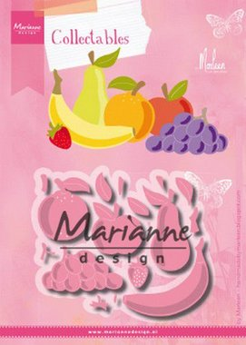 Marianne Design Collectable Fruit by Marleen COL1469