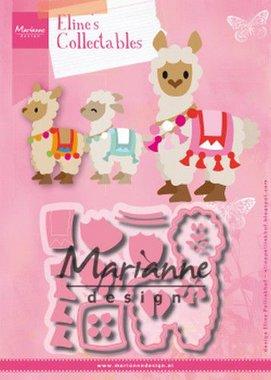 Marianne Design Collectable Eline's Alpaca COL1470