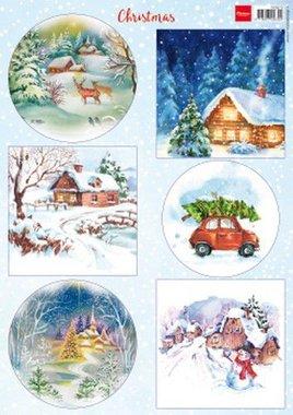 Marianne Design Decoupage Christmas VK9579 A4