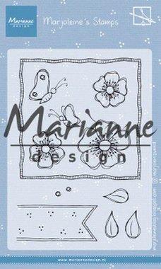 Marianne Design Clear Stamps Marjoleine's anemones MZ1902