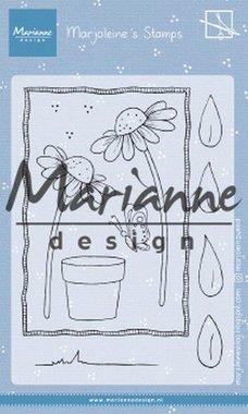 Marianne Design Clear Stamps Marjoleine's daisies MZ1903