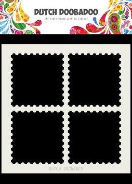 Dutch Doobadoo Dutch Mask Art 15x15cm postzegelranden