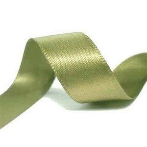 Satijnlint Frans Groen 9mm