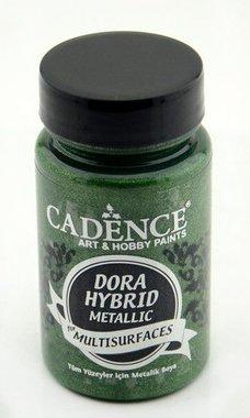 Cadence Dora Hybride metallic verf Groen 90 ml