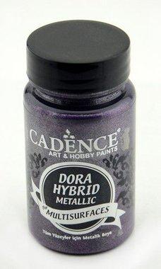 Cadence Dora Hybride metallic verf donker Orchidee 90 ml