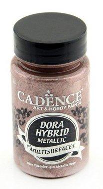 Cadence Dora Hybride metallic verf Antiek roze 90 ml
