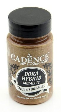 Cadence Dora Hybride metallic verf Antiek goud 90 ml