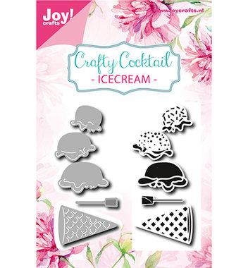 Joy! stempel met mal ijsjes 6004/0027