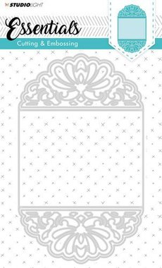 Studio Light Embossing Die Cut Stencil Essentials nr.196