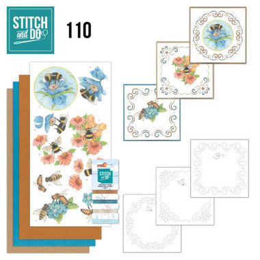 Stitch and Do 110 Bees and Flowers