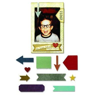 Sizzix Thinlits Die - Pocket Frame Tim Holtz