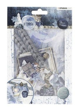 Studio Light Die Cut Paper Set Snowy Afternoon nr.655