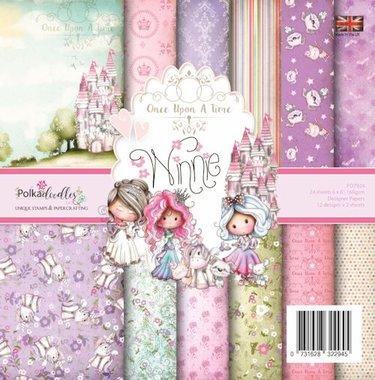 Polkadoodles Paperpack Winnie Fairytale
