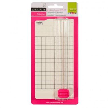 Vaessen Creative • Mini papiersnijder 6,5x15,3cm
