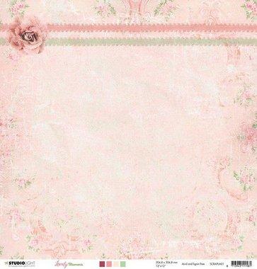 Studio Light Scrappapier 10 vel 30,5x30,5 Lovely Moments nr 01
