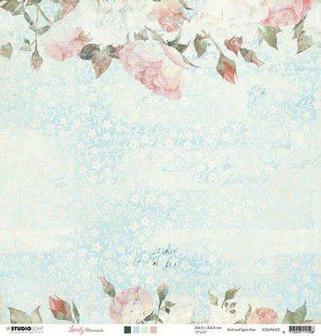 Studio Light Scrappapier 10 vel 30,5x30,5 Lovely Moments nr 02