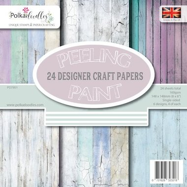 Polkadoodles Paperpack Distressed Wood