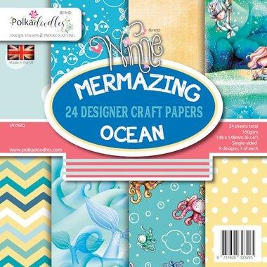 Polkadoodles Paperpack Mermazing Ocean