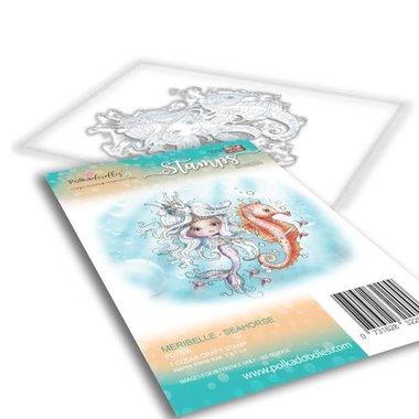 Polkadoodles stamp Meribelle - Seahorse