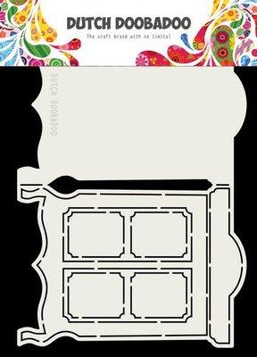 Dutch Doobadoo card art wandkast A5