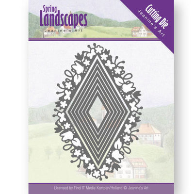 Dies - Jeanine's Art - Spring Landscapes - spring diamond