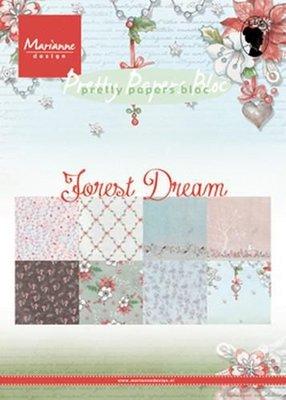 Marianne Design Paper pad Forest Dream A5 PK9158 A5 (08-18)