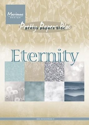 Marianne Design Paper pad Eternity PK9154 (03-18)