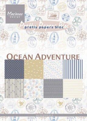 Marianne D Paperpad Ocean Adventure A5 PK9162A5 (05-19)