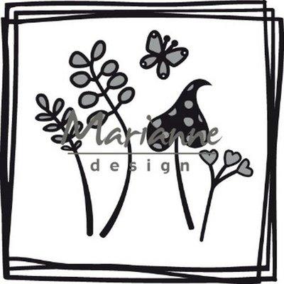 Marianne Design Craftable Doodle vierkant CR1469