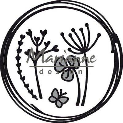 Marianne Design Craftable Doodle cirkel CR1468