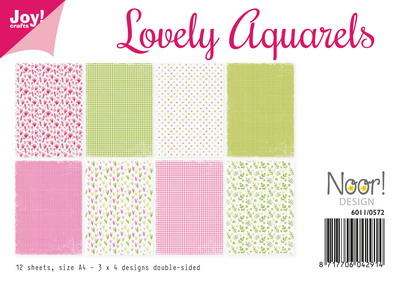 Joy! papierset Lovely aquarels 6011/0572