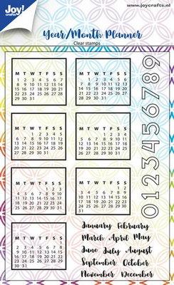 Joy! stempel jaar-maandplanner 6410/0495