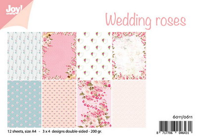 Joy! papierset Wedding roses 6011/0611