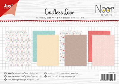 Joy! papierset Endless love 6011/0605