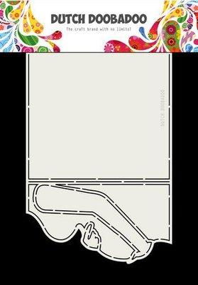 Dutch Doobadoo Card art zwanger