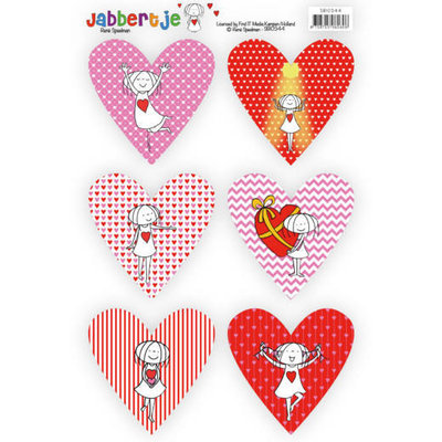 Push out Jabbertje heart 2