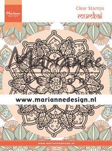 Marianne Design Clear Stamps Mandala Mumbai CS1034