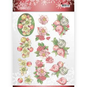 3D Knipvel - Jeanine's Art - Lovely Christmas - Lovely Ornaments