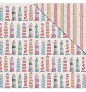 Fabscraps Summer Loving lighthouse paper