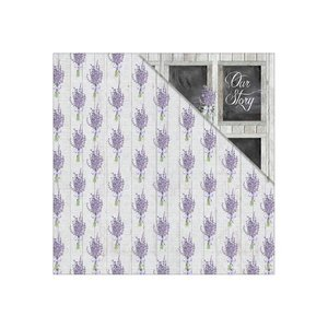 Fabscraps Lavender Breeze Whisper paper