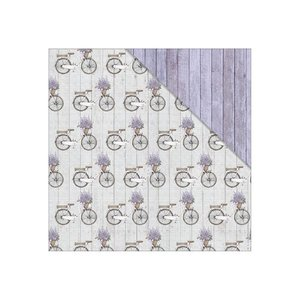 Fabscraps Lavender Breeze Memory Lane paper