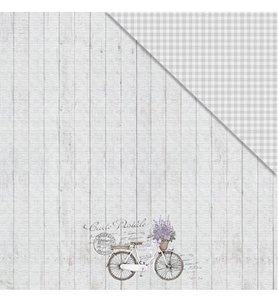 Fabscraps Lavender Breeze simplicity paper