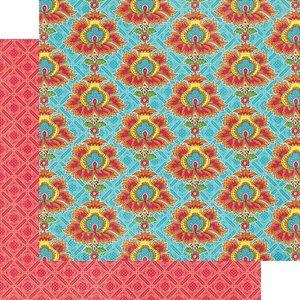 Graphic45 Bohemian Bazaar Collection opulent sunset paper