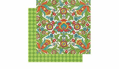 Graphic45 Bohemian Bazaar Collection vivid splendor paper