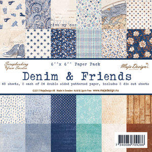 Maja Design Paperpack Denim & Friends